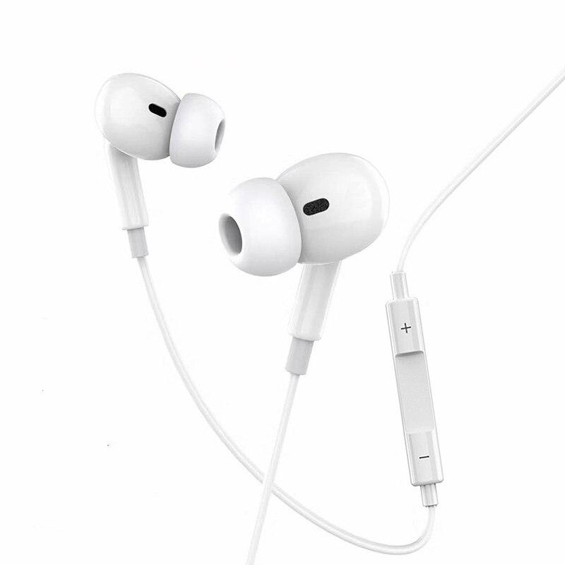 Fone de ouvido com fio para apple ipad iphone 7 8 11 plus x xs max xr bluetooth música chamada respondendo estéreo ios fones 3.5mm