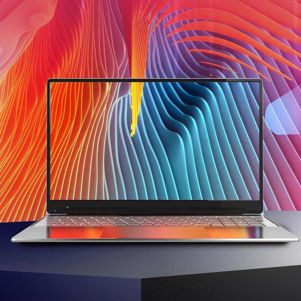 Promo Intel Laptop 15.6 inch Windows 10 Pro 1920*1080 Cheap Portable Laptop DDR4 Ram 12GB Rom 128GB SSD And 1TB HDD HDMI Port Notebook