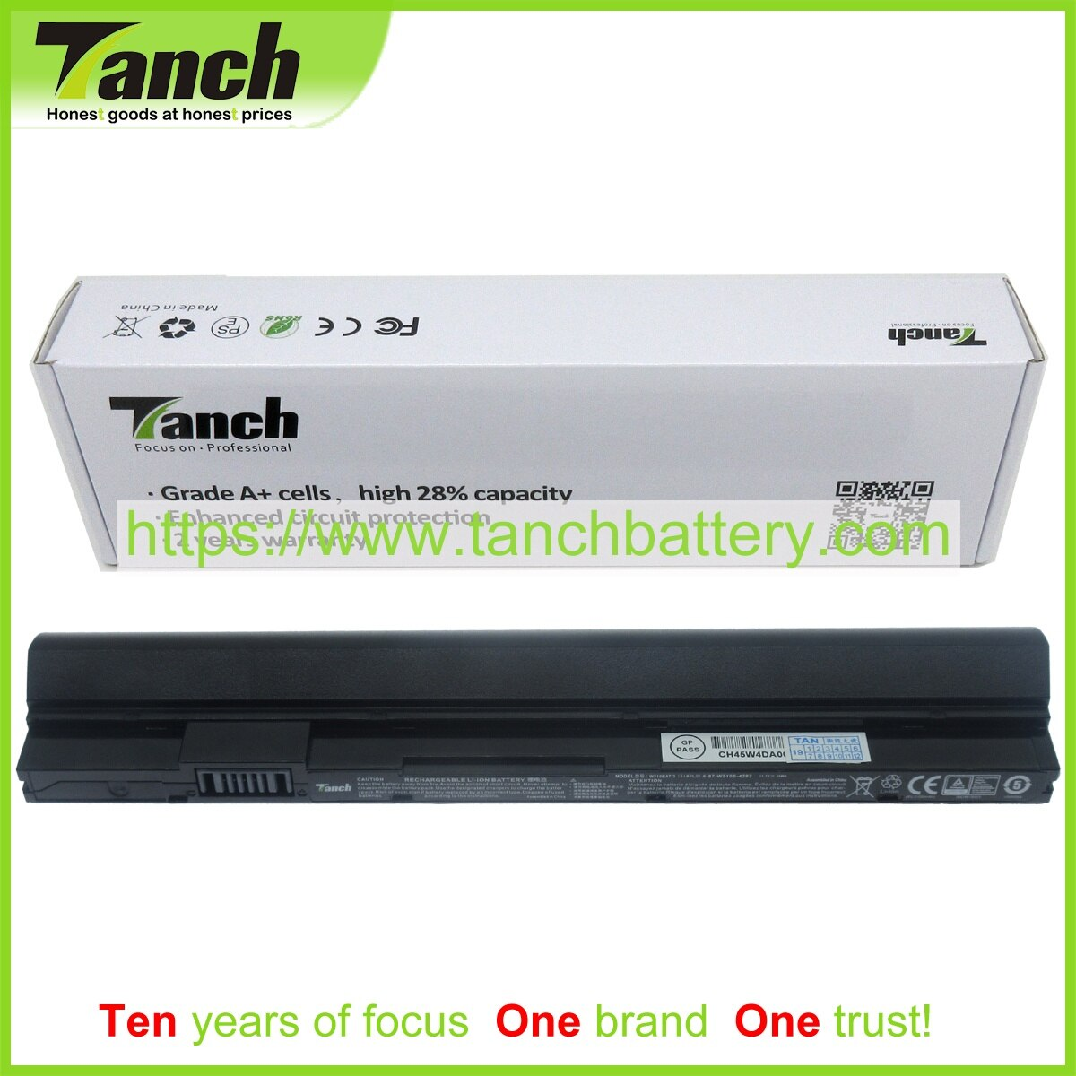 Tanch بطارية كمبيوتر محمول ل CLEVO W510BAT-3 6-87-W510S-4291 6-87-W51LS-4UF 6-87-W510S-4FU1 W510S 11.1V 3 الخليوي