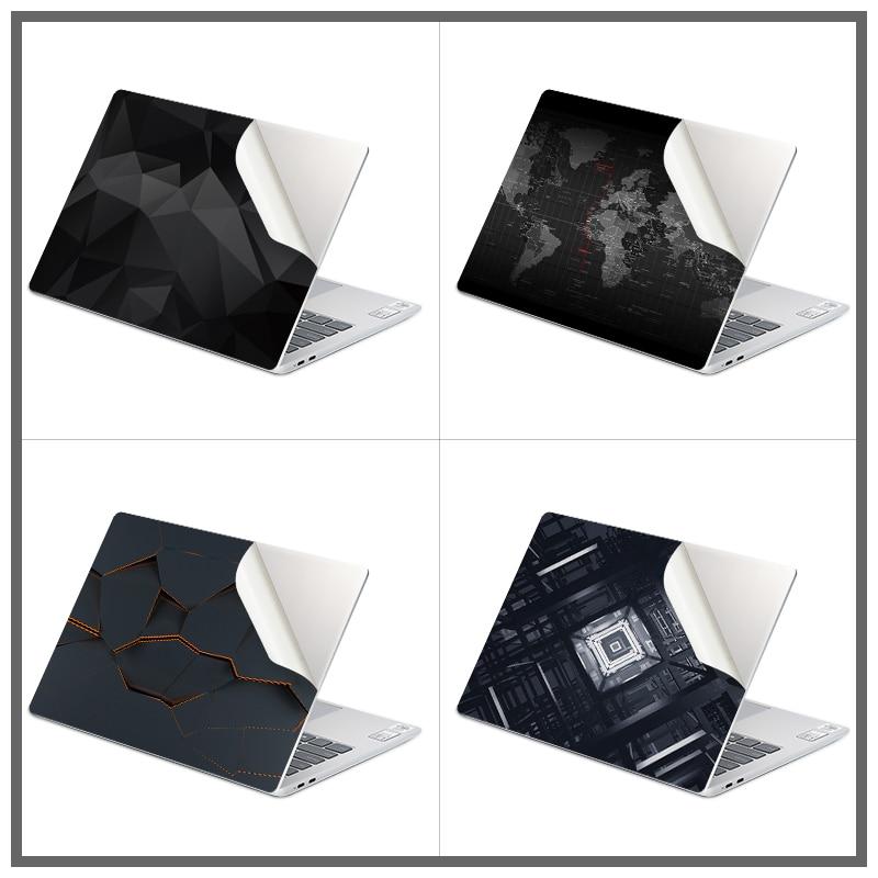 Pegatinas de vinilo de estilo geométrico oscuro para ordenador portátil, pegatinas decorativas...
