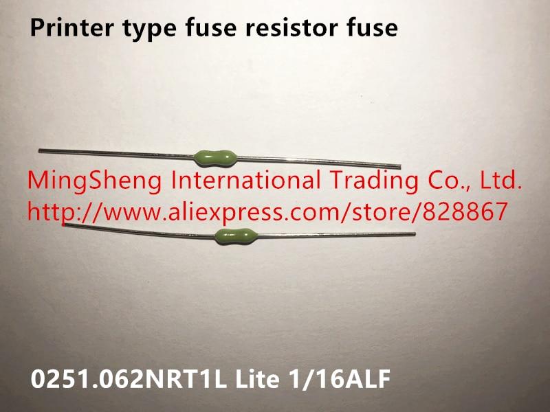 Оригинальный новый 100% принтер Тип резистор-предохранитель 0251.062NRT1L Lite 1/16ALF