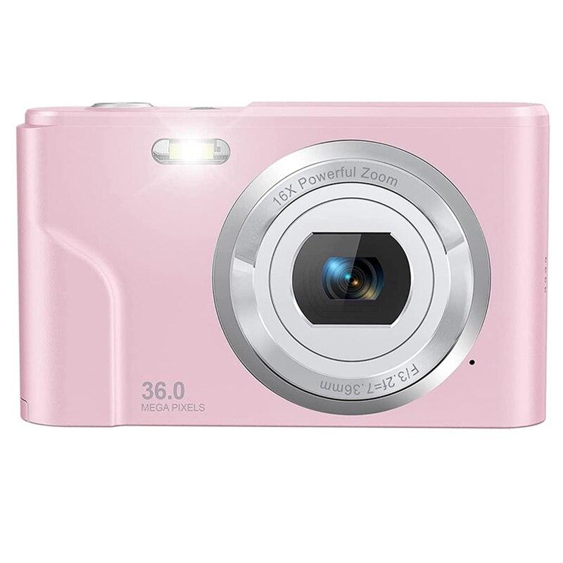 كاميرا رقمية 36 ميجا بكسل كاميرا 1080P تسجيل الدخول كاميرا كاميرا صغيرة محمولة مع 16X التكبير الرقمي للأطفال