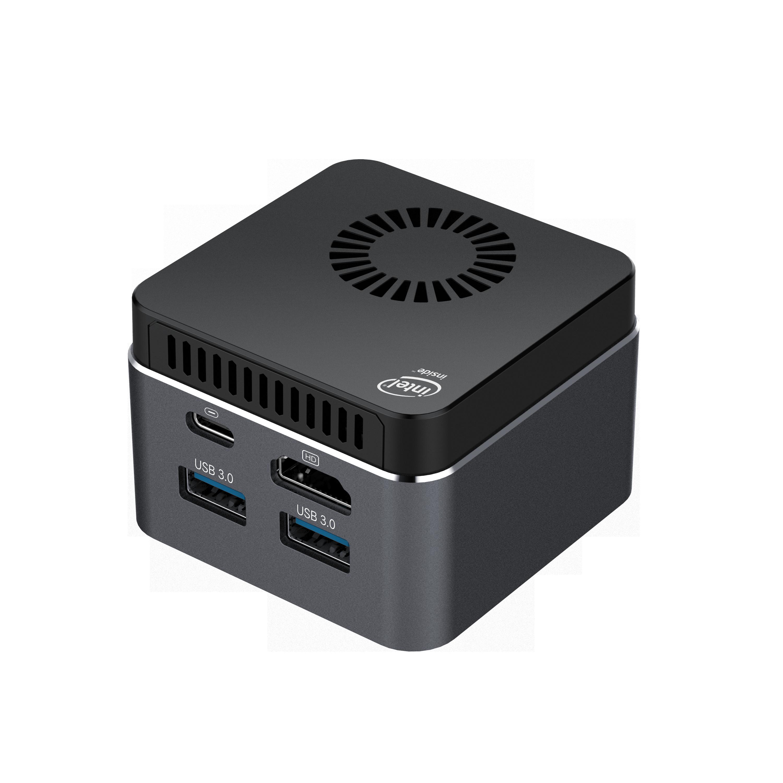 M1T Mini PC Win10 Linux Celeron N4100/N4120/J4125 8G RAM 128G/256G/512G/IT ROM USB3.0 BT4.2 Dual WIFI 2.4G+5.8G Mini Computer