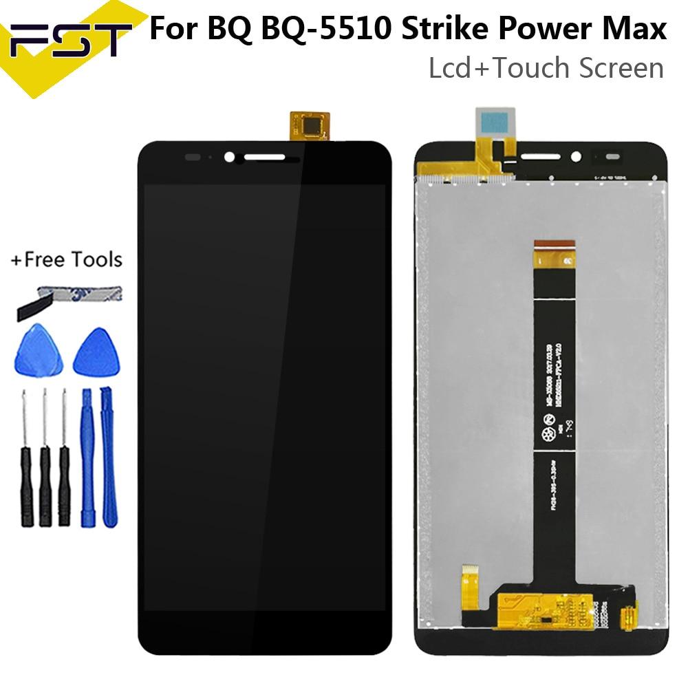 5.5For BQ BQ-5510 BQ 5510 Strike Power Max BQS 5510 BQS-5510 LCD Display+Touch Screen Digitizer Assembly Phone Accessories