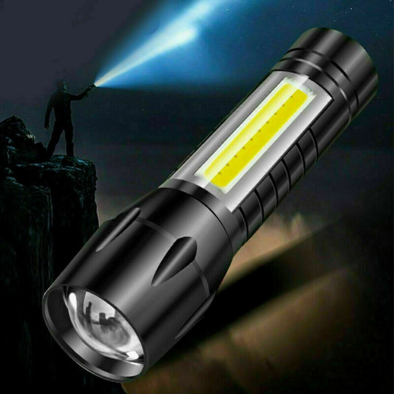 Фото - Новая наружная 4 Стильная вспышка USB перезаряжаемая XPE наружная вспышка COB ярсветильник вспышка освещение вспышка