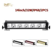 ip68 led bars 12v 24v 36v ip68 14 inch combo beam led bar light for auto atv utv 4x4 accessories offroad trucks