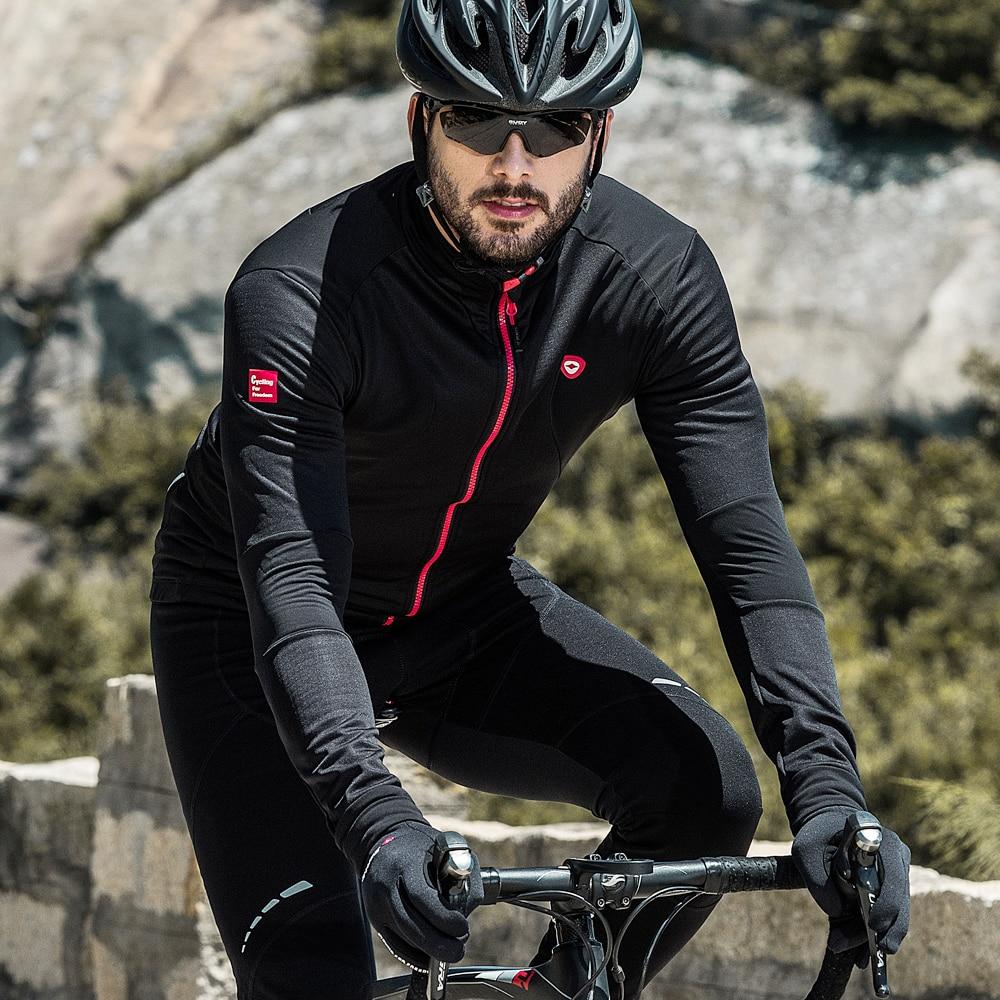 Santic Men Cycling Jackets Thermal Cycling Jerseys Fleece  Sports Jacket Keep Warm Winter Windproof