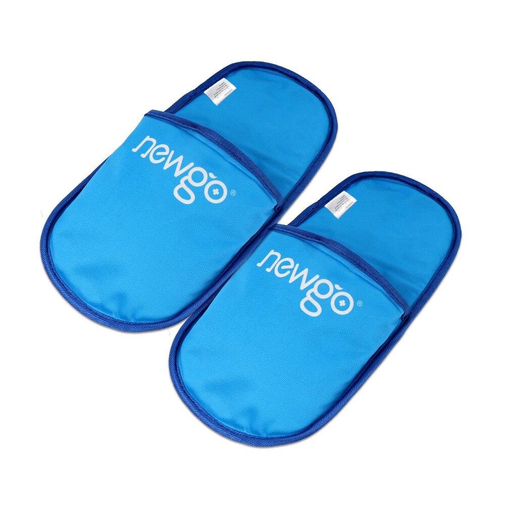 شبشب كيس ثلج يمكن إعادة استخدامه للقدم هلام النعال الساخن الباردة العلاج لتخفيف الآلام تورم التهاب المفاصل وجع حزمة الباردة الساخنة للأقدام