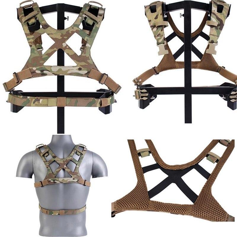 حزام صدر تكتيكي للقطع بالليزر MK3 D3CRM ، تكتيكات خارجية