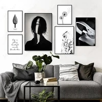 boho nature canvas posters wild indian native woman wall art minimalist print painting nordic decorative picture home decoration