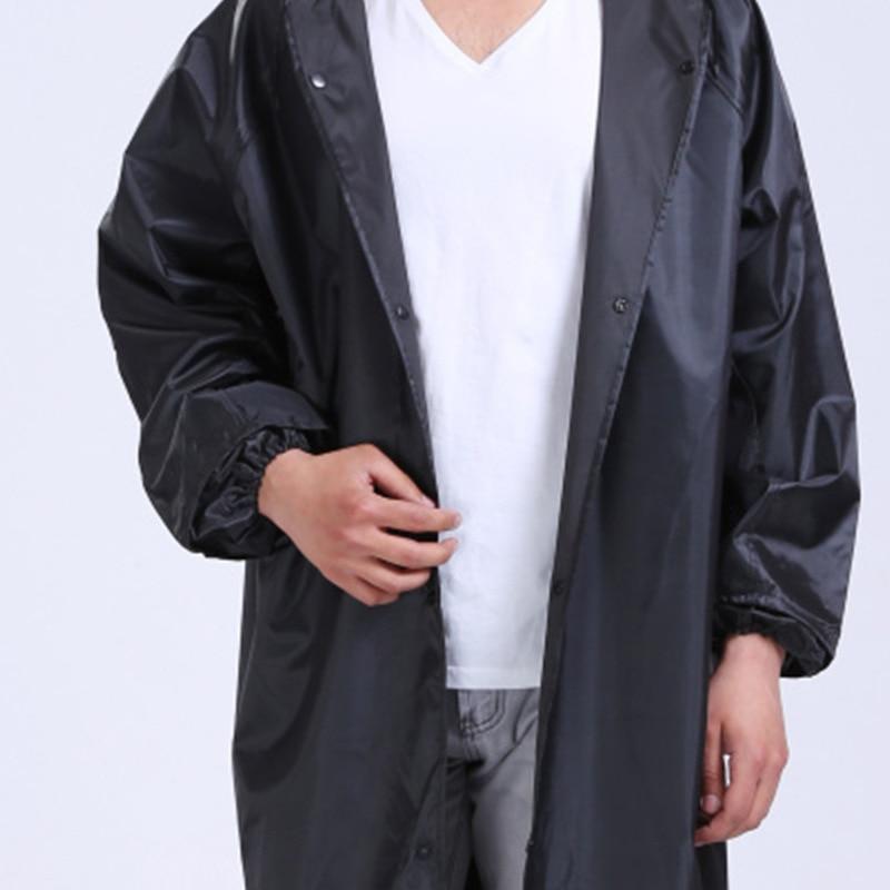 Waterproof Raincoat Lightweight Long Outdoor Raincoat Hooded Men Camping Supplies Emergency Chubasqueros Raincoats BG50RG enlarge