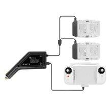 Chargeur de voiture Intelligent adaptateur de charge rapide Hub télécommande chargeur de batterie pour FIMI X8 SE 2020 quadrirotor accessoires