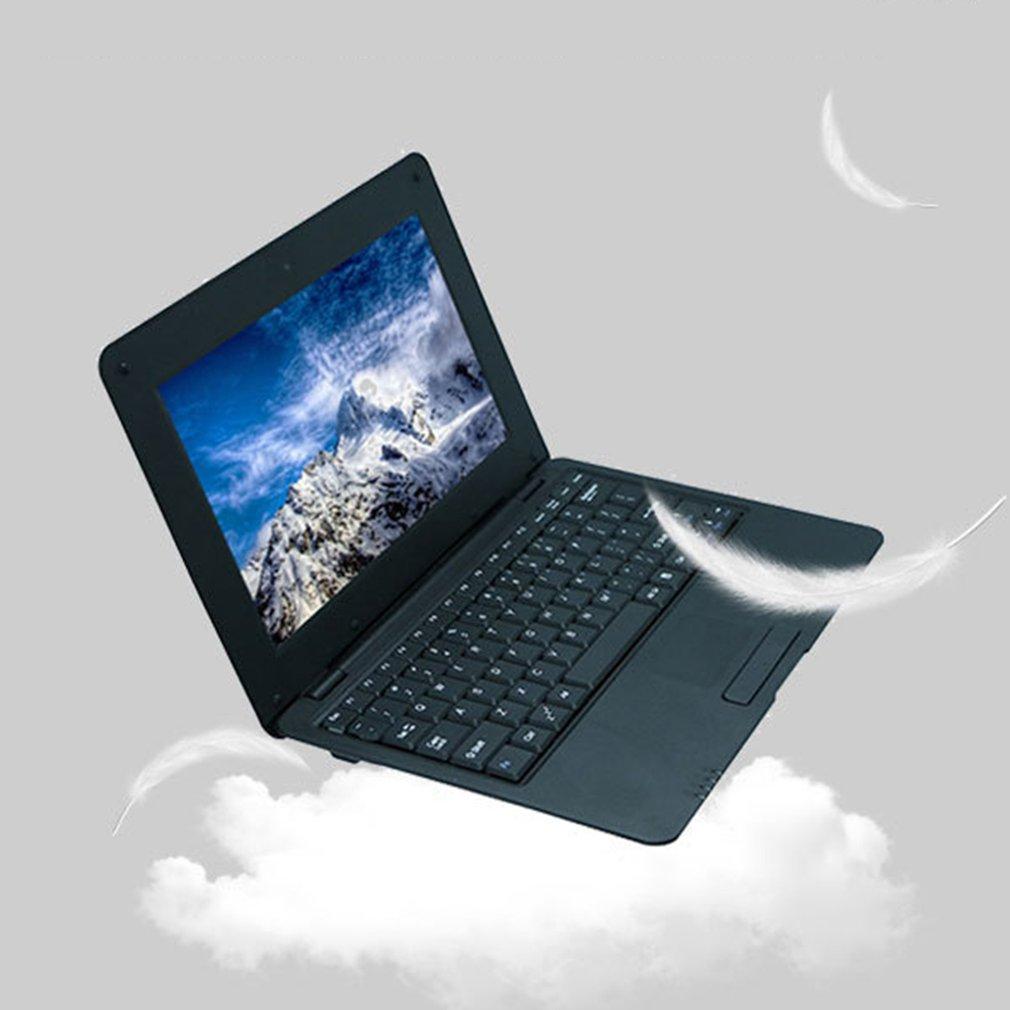 كمبيوتر محمول 2020 جديد 10.1 بوصة شحن مجاني A9 1.5GHZ 1G + 8G واي فاي صغير تسجيل الدخول نتبووك لعبة كمبيوتر محمول كمبيوتر الطالب