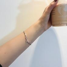 Yilu Has You Bamboo Stitching Bracelet Cold Style High-Grade INS Bracelet Elegant Exquisite Student