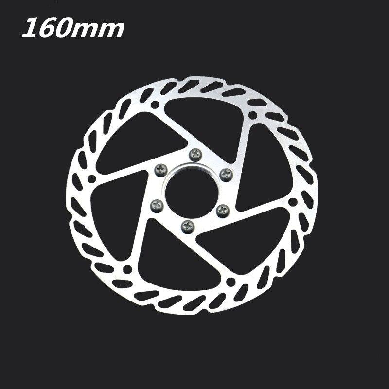 Pastillas de freno de bicicleta G3 brida de acero inoxidable Rotor de freno de presión hidráulica 160MM pastillas de freno de bicicleta de montaña piezas de bicicleta