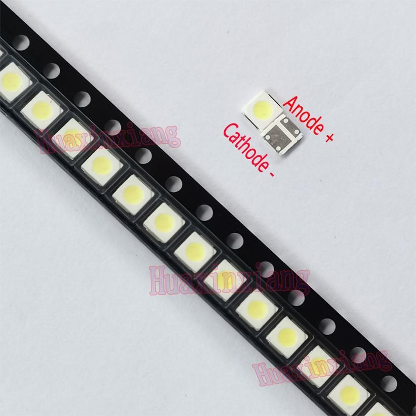 500 قطعة/الوحدة Lextar SMD LED 3030 3V 1.8W 500mA الباردة الأبيض عالية الطاقة LED للتلفزيون الخلفية LED شرائط