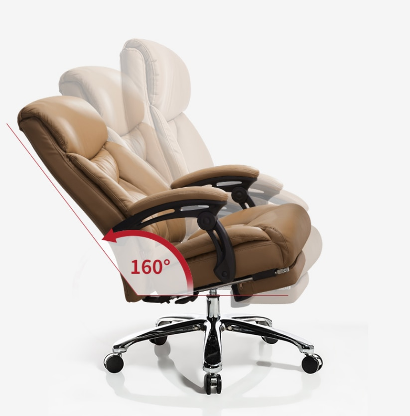 homall ribbed office chair mid back pu leather executive conference desk chair adjustable swivel chair with comfortable arms Reclining boss chair business swivel chair executive chair home computer chair office chair comfortable backrest leather