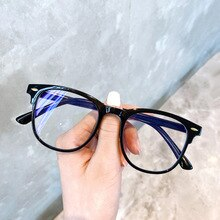 Round Frame Sunglasses Anti Blue Light Blocking Glasses for Woman Optical Eyeglasses Man Computer Sp