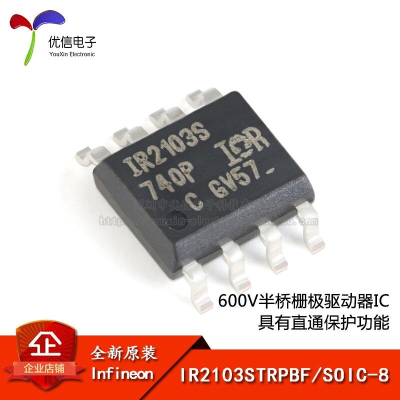 Original IR2103STRPBF SOIC-8 600V controlador de puerta de medio puente IC