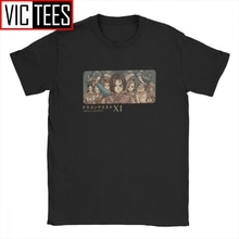 Vintage Leggendario Heroes Dragon Quest T-Shirt Da Uomo In Cotone T Shirt Xi Rpg Gioco Toriyama Melma Manica Corta Tee Shirt Magliette E Camicette