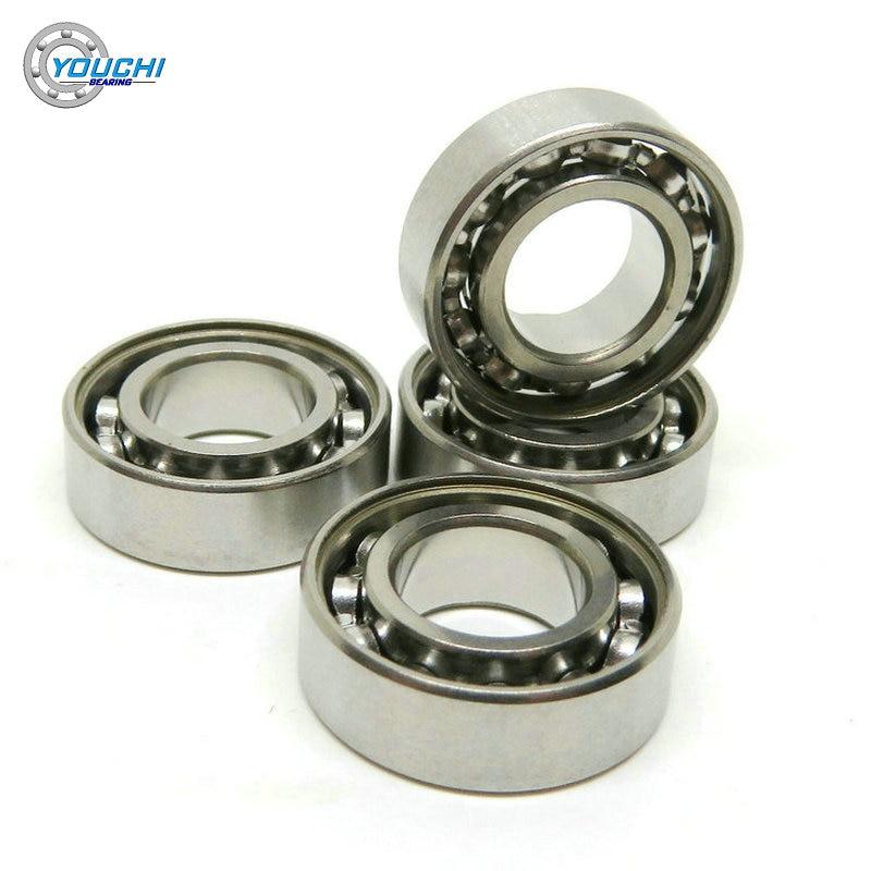 2pcs set stainless steel ball bearing smr105 2os cb abec 7 ld 5 10 4mm 8x16x5mm S688 Open Hybrid Ceramic Bearing S688C 688 CB 8*16*5 ABEC-7 Stainless Steel Rings And Si3N4 Balls Bearings 618/8