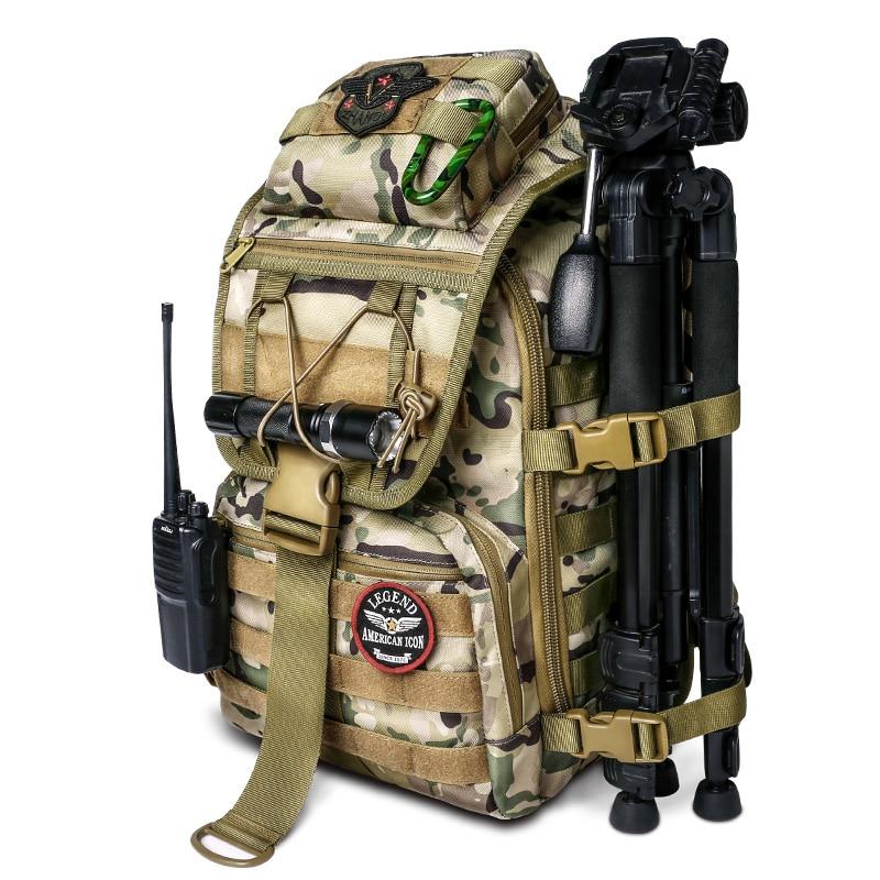 36L táctica al aire libre bolso multi-función senderismo camping asalto mochila Mochila De caza al aire libre bolsa de camuflaje militar bolsa