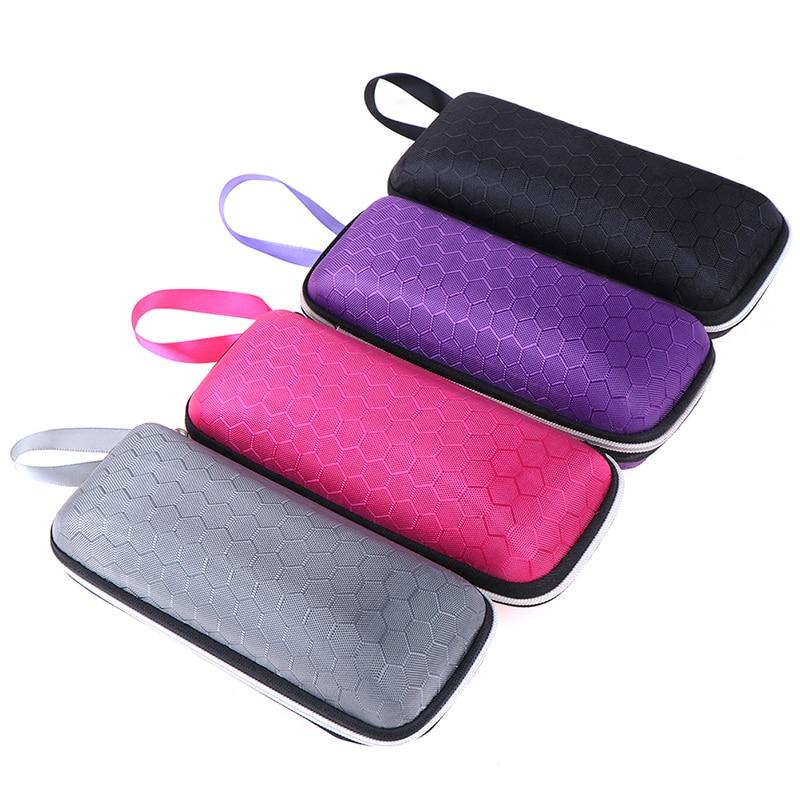 Cajas gafas de sol modernas, bolsas, nuevas, portátiles, rectangulares, con cremallera, Estuche Duro de gafas, caja protectora