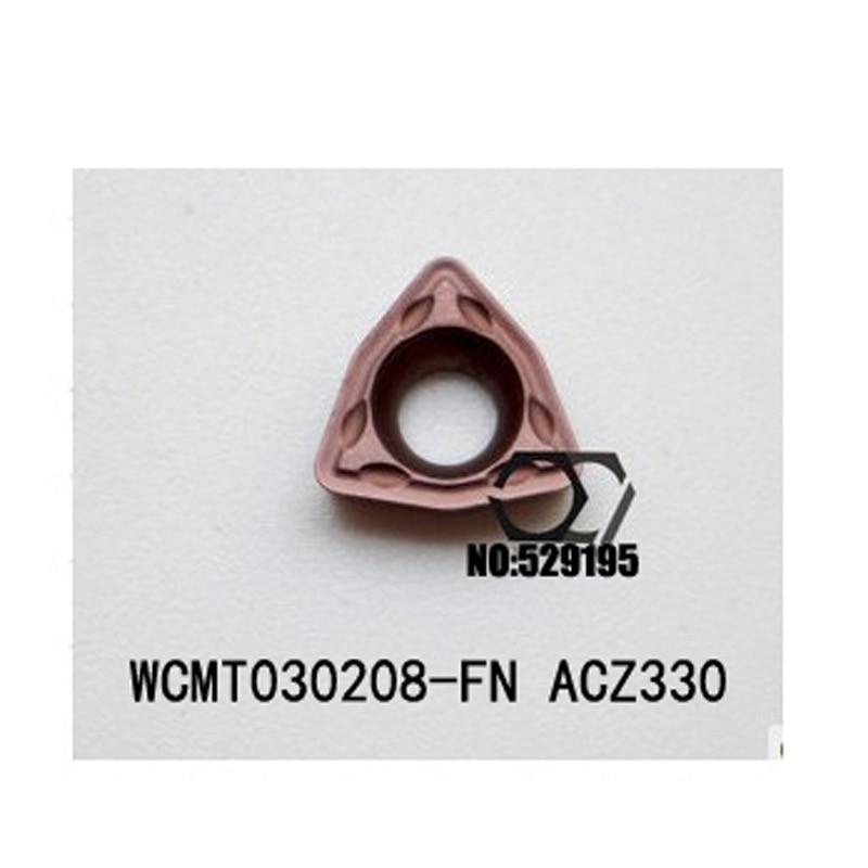 Sumito WCMT030208-FN ACZ330 كربيد إدراج WCMT 030208 مخرطة أدوات تقطيع باستخدام الحاسب الآلي