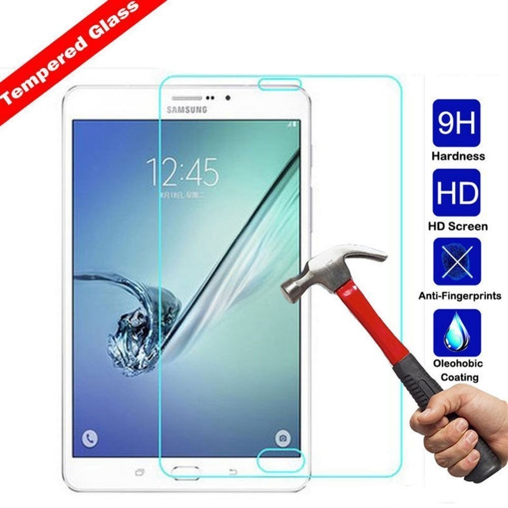 Фото - 9H 8 Screen Protector For Samsung Galaxy Tab S2 8.0 Tempered Glass for Samsung Tab S2 T710 T715 Tempered Glass Protective Film корпус zalman s2 tempered glass window black