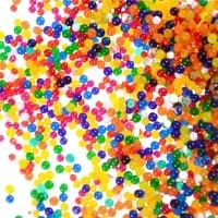 Perles deau mignonnes en croissance  3000 pieces paquet  boules deau en cristal  terre boue  Hydrogel  jouet pour enfants  decoration florale de mariage pour la maison