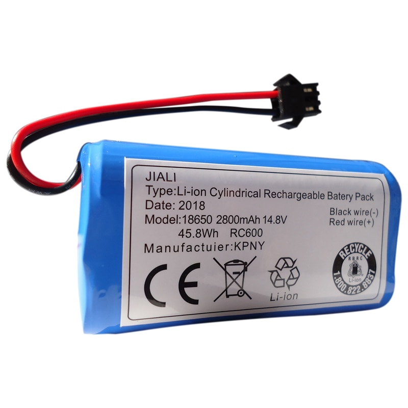 -Batería de litio 14,8 V 2800MAh para Cobos Dibao accesorios Magic CEN360/361 DN620 DH35 43 45 bfd-wsq Sweeper