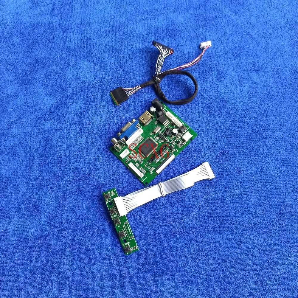 LVDS 40 دبوس AV VGA HDMI-متوافق 1366*768 لتقوم بها بنفسك عدة WLED 60Hz شاشة الكريستال السائل تحكم محرك مجلس كمبيوتر محمول ل LP101WH1/LP101WH2