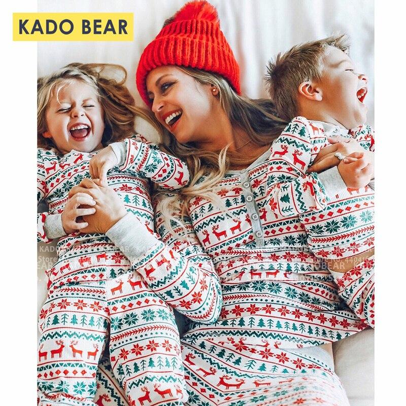 Pijama família combinando roupas, mãe, filha, cervos, floco de neve, pai, filho, calça, conjunto crianças, sleepwear, casa