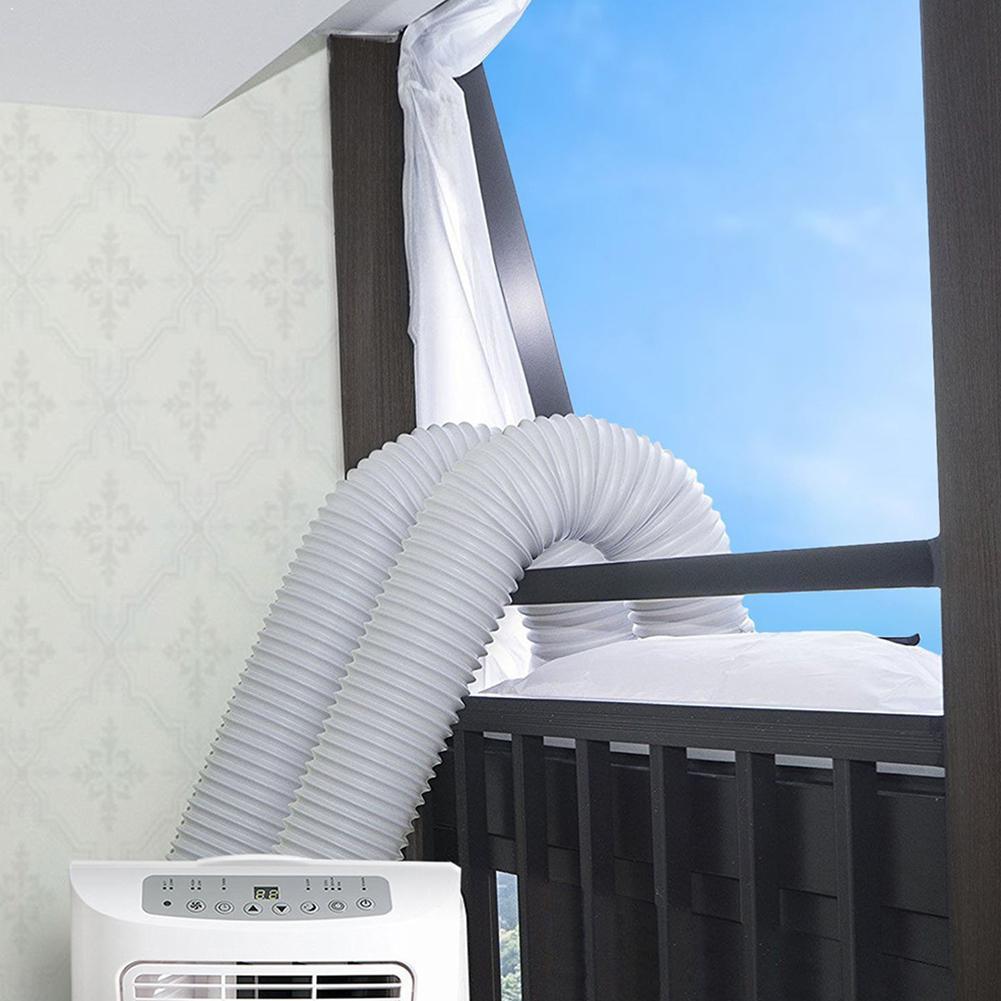 Blanco ventana corredera sello paño ventana Marco deflector acondicionador suave sello ventana móvil sello aire AirLock Pla K1Q5