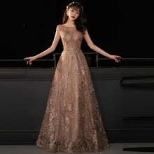 prom dresses evening-gown a-line see-through elegant long plus size dresses