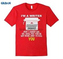Schriftsteller T-Shirt Für Echt Autoren Sonne Männer T-shirt