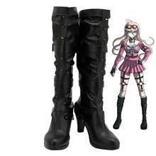 Danganronpa V3 tuer lharmonie Iruma Miu jeux personnaliser Cosplay chaussures à talons hauts bottes