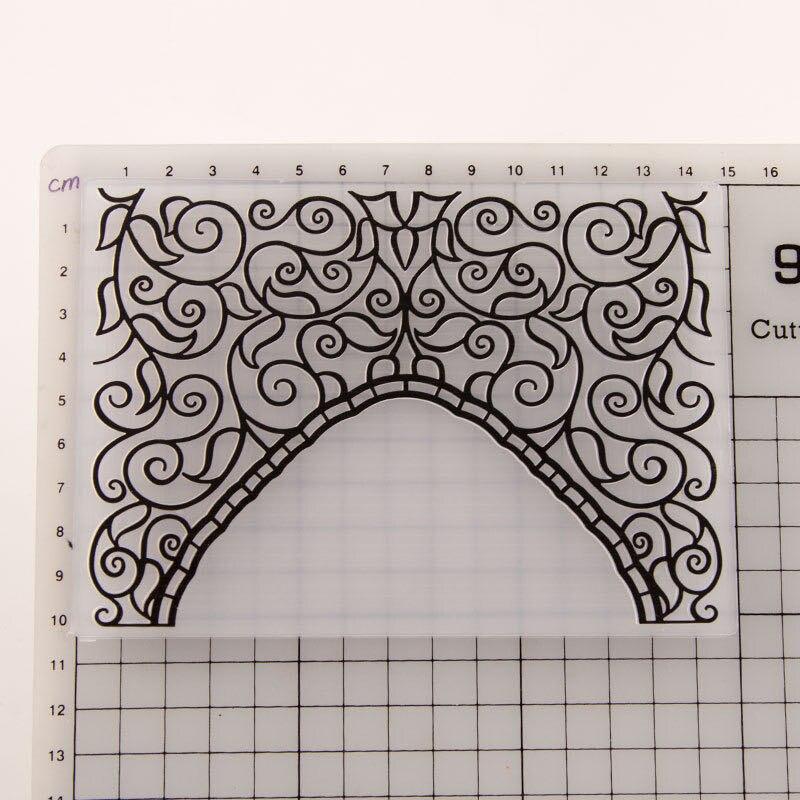 2020 new wicker leaf and bridge profile embossed folder for DIY scrapbook paper craft template mold album decoration