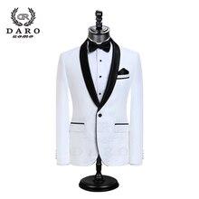 DARO luxe hommes costumes veste pantalon robe formelle hommes costume ensemble costumes de mariage marié Tuxedos (veste + pantalon) DR8858