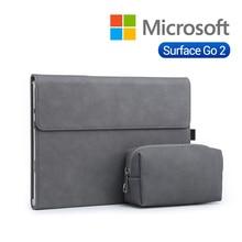 2020 nowy Laptop pokrowiec na Tablet rękawem dla Microsoft Surface Go 2 stojak uchwyt na powierzchni go 2 10 cal przypadku kobiety mężczyźni solidna torba na laptopa