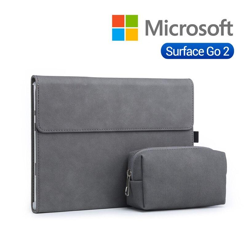 ¡Novedad de 2020! Funda para Tablet y ordenador portátil, funda para Microsoft Surface Go 2, funda con soporte de superficie go 2 de 10 pulgadas, funda sólida para ordenador portátil para hombre y mujer