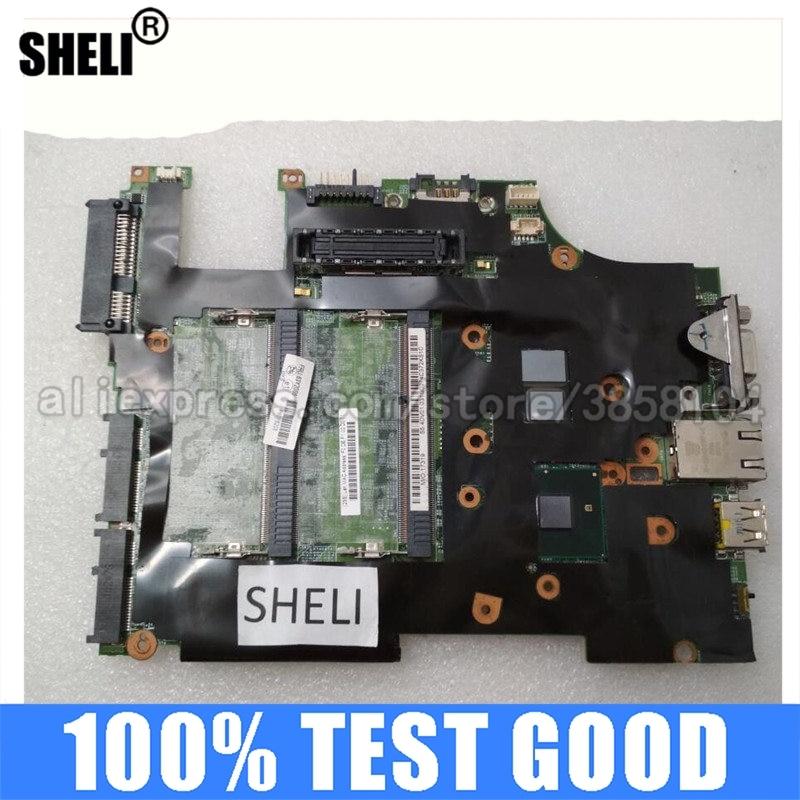 SHELI لينوفو X201T اللوحة الأم مع I7-640 FRU: 63Y2086