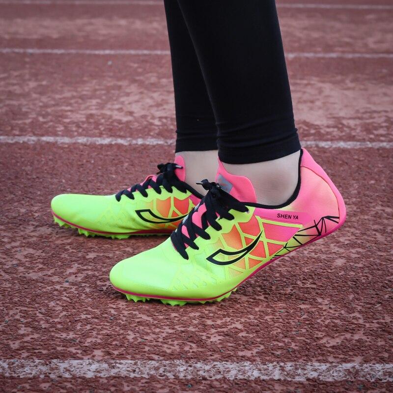 Профессиональная спортивная обувь для мужчин и женщин мужская с шипами бега