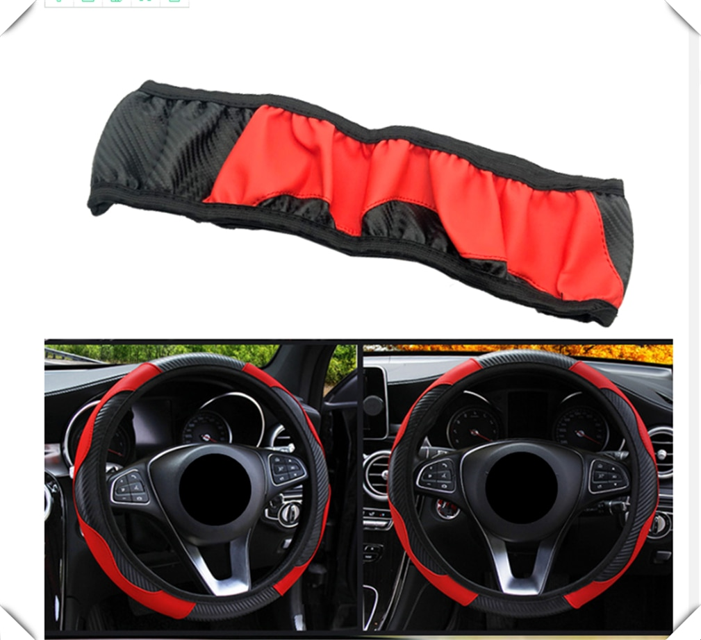 Protector para volante de coche de fibra de carbono de 37-38CM Accesorios Para Chevrolet Trailblazer Onix Tru Orlando código Captiva