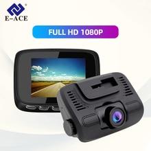 E-ACE B24 Car Dvr  2.0 Inch mini Dash Cam Full HD 1080P Car Camera Video Registrar Dual Lens Recorder Video Automotive Dvr