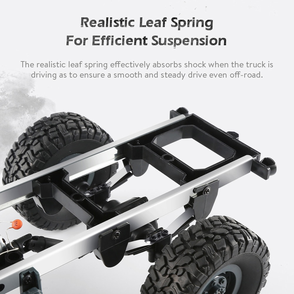 JJRC Q60/Q61 Remote control car 1:16 2.4G six-wheel drive military truck Army vehicle climbing off-road RC Car Kids Toy for Boy enlarge