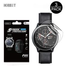 3Pack 5H Für Samsung Galaxy Uhr Aktive 2 40mm 44mm Smart Uhr TPU Nano Explosion- proof Anti-schock HD Screen Protector Film