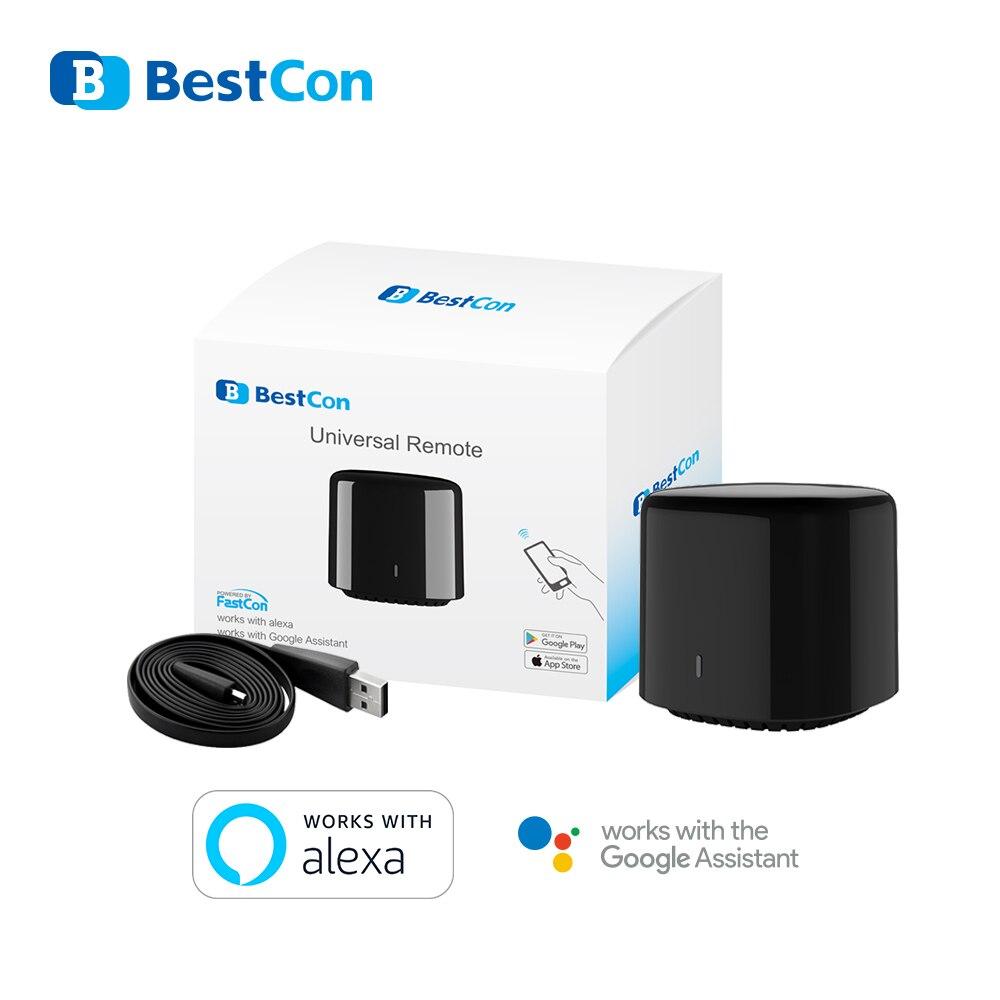 Broadlink RM4C Mini interruptor de movimiento de frijol negro WIFI control remoto inteligente IR automatización del hogar funciona con Google Home