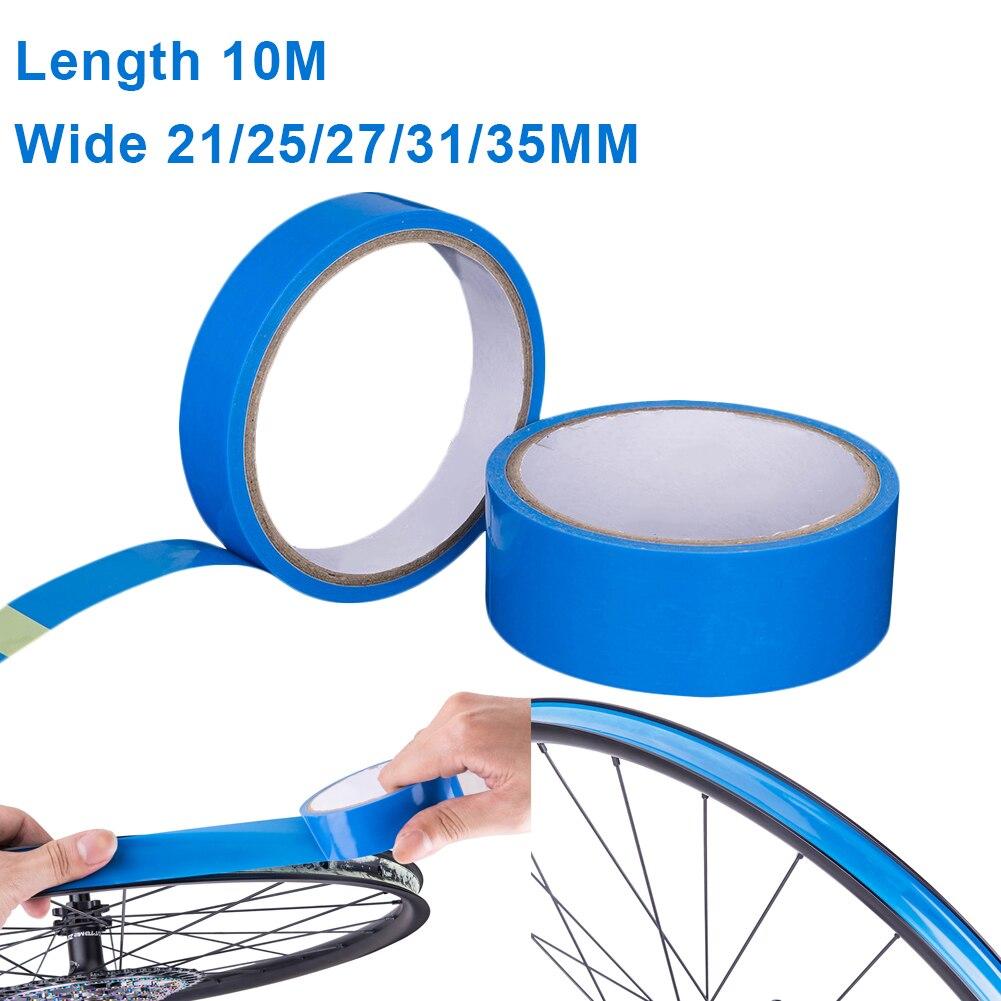Tubo de neumático de bicicleta de montaña, cinta interna de 10m para neumático de bicicleta, accesorios para ciclismo de montaña