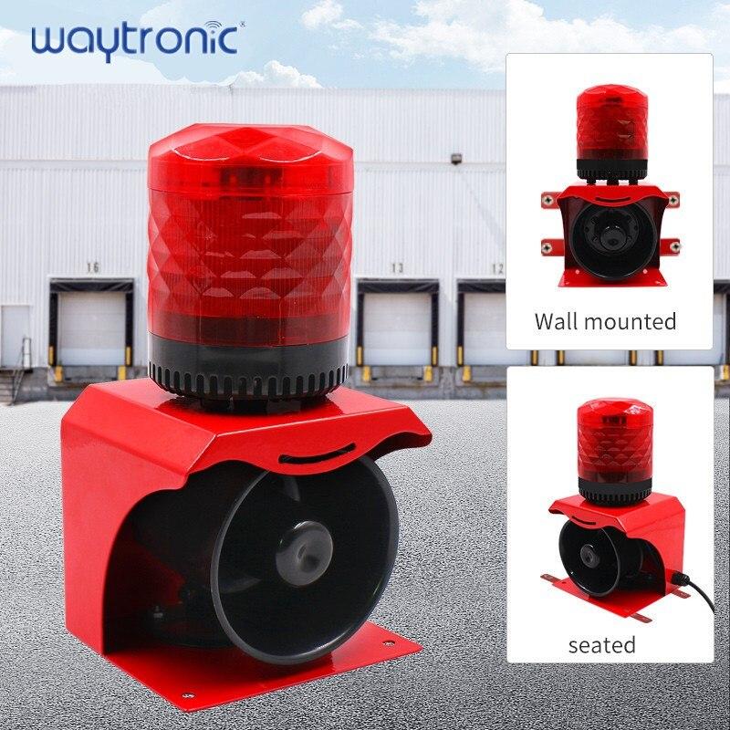 Аварийный сигнал и светильник, водонепроницаемый звуковой сигнал, промышленная сигнализация, безопасность, голосовая стробоскопическая в...